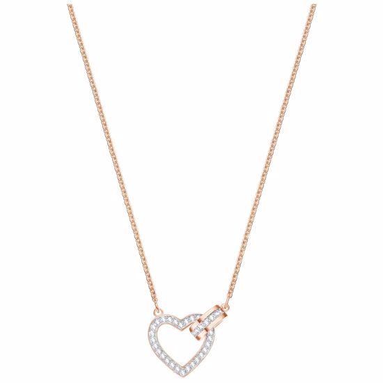 Swarovski smykke Lovely, Rose gold plating - 5368540