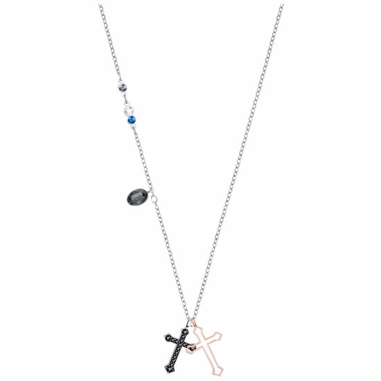 Swarovski smykke Duo Mini Cross - 5396881