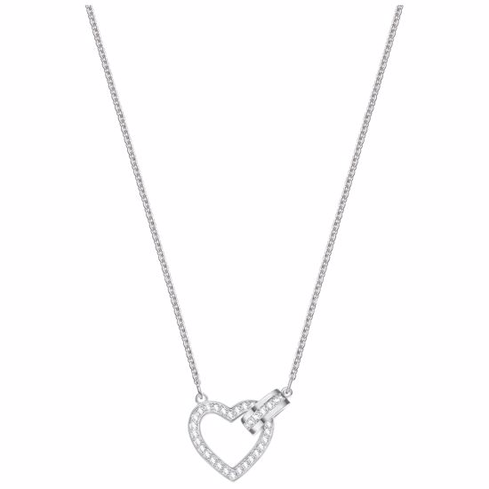 Swarovski smykke Lovely, Rhodium plating - 5380703