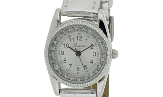 Bonett Barneklokke. Pikeur, sølv - 1206S
