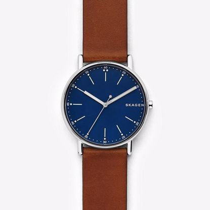 Skagen Signatur Brown Leather Klokke - SKW6355P