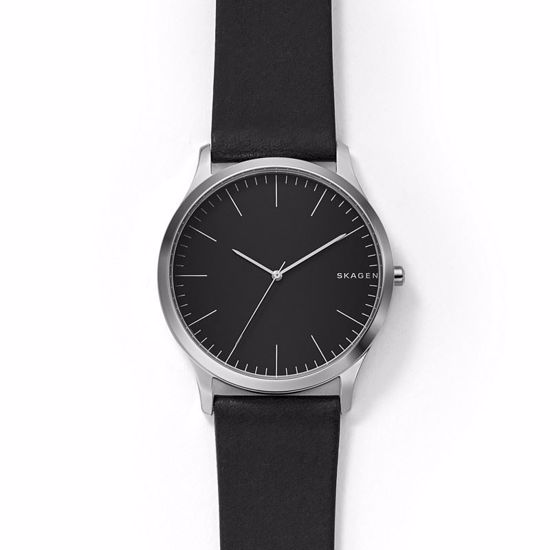 Skagen Jorn Black Leather Watch - SKW6329P