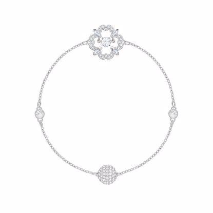 Swarovski Remix Collection Sparkling Dance Flower armbånd - 5396228