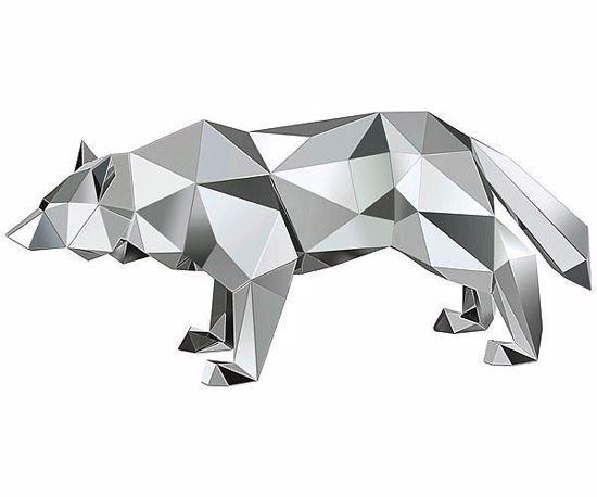 Swarovski figurer. Wolf by Arran Gregory - 5272772