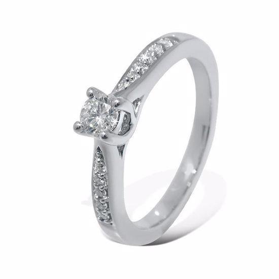 Diamantring Azur med 0,19 ct W-Si - ABR00767