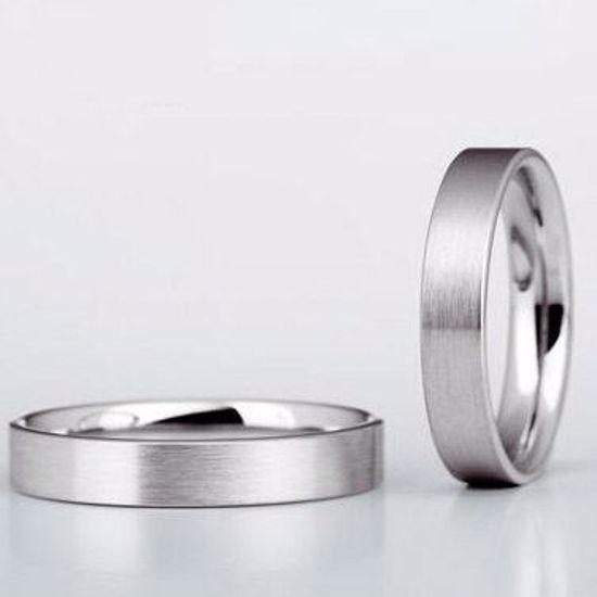 Gifteringer i hvitt gull 14kt, 5 mm. Christian Bauer - 30050