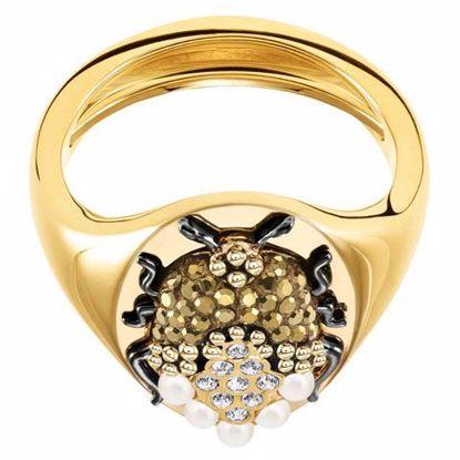 Swarovski ring. Magnetic Signet - 5416785