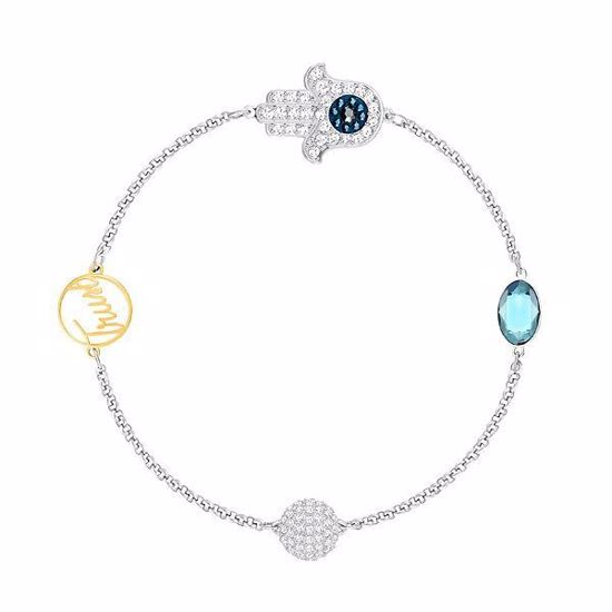 SWAROVSKI REMIX COLLECTION HAMSA HAND SYMBOL ARMBÅND - 5365759