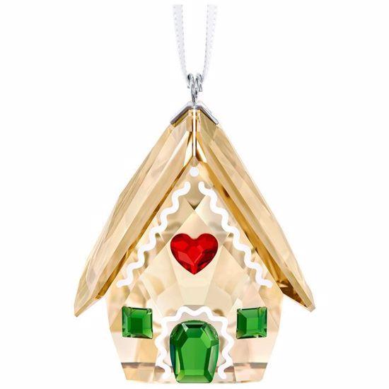 Swarovski figurer. Gingerbread House Ornament - 5395977