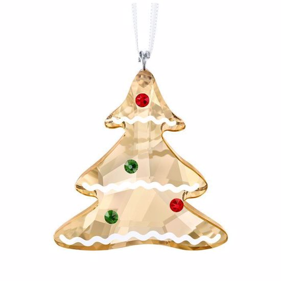 Swarovski figurer. Gingerbread Tree Ornament - 5395976
