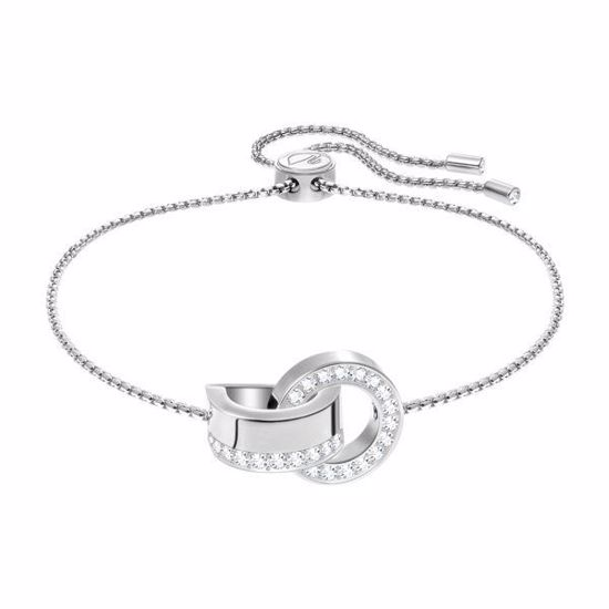 Swarovski armbånd Hollow, Rhodium plating - 5373969