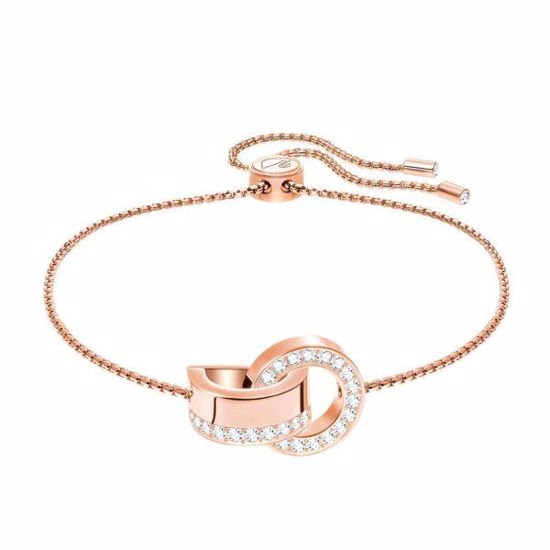 Swarovski armbånd Hollow, Rose gold plating - 5368040