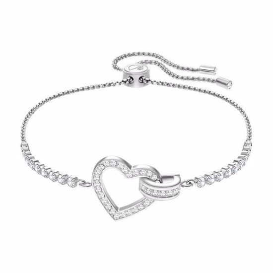 Swarovski armbånd Lovely, Rhodium plating - 5380704