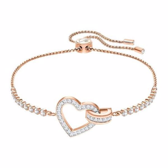 Swarovski armbånd Lovely, Rose gold plating - 5368541