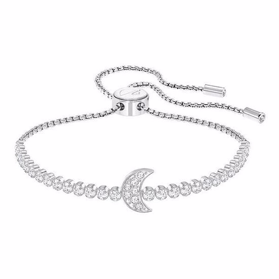 Swarovski armbånd Subtle Moon, Rhodium plating - 5349627