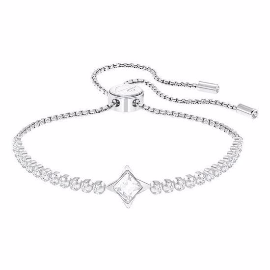 Swarovski armbånd Subtle Star, Rhodium plating - 5290162