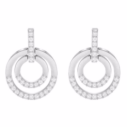 Swarovski øredobber Circle, Medium- 5349203