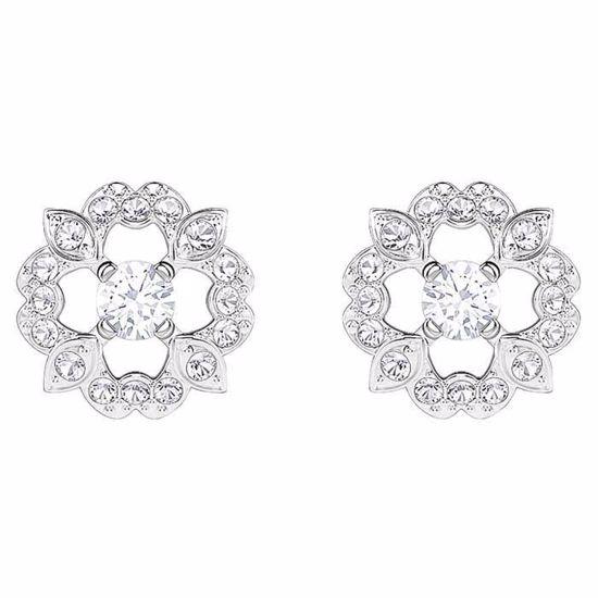 Swarovski øredobber Sparkling Dance Flower - 5396227