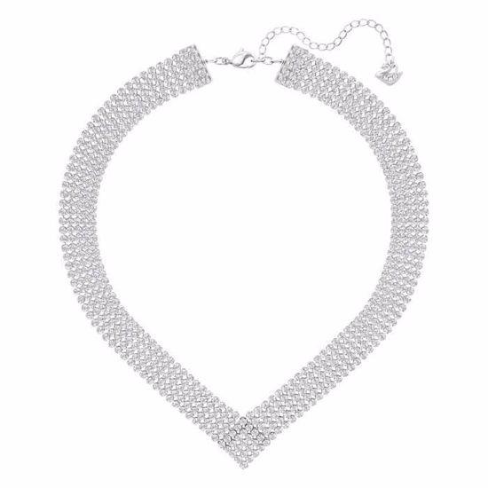 Swarovski collier Fit, Palladium plating - 5289715