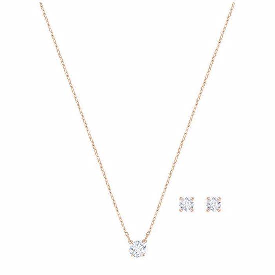 Swarovski smykkesett Attract Round - 5408433