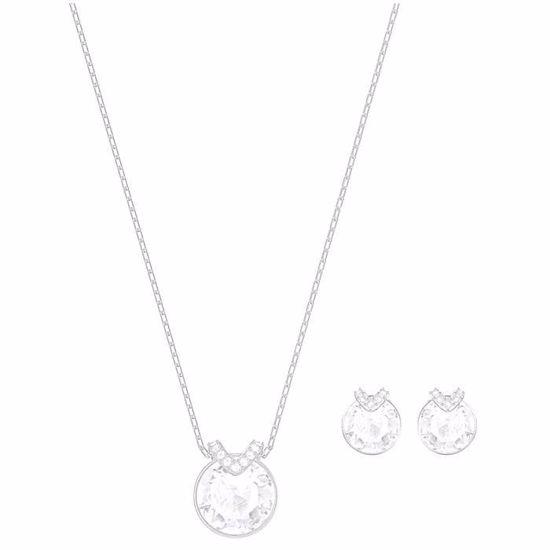 Swarovski smykkesett. Bella V, Rhodium plating - 5299319