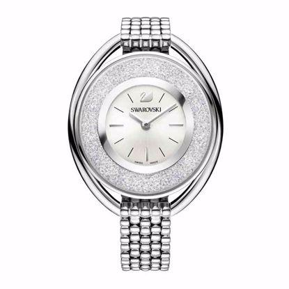 Swarovski klokke Crystalline Oval White - 5181008