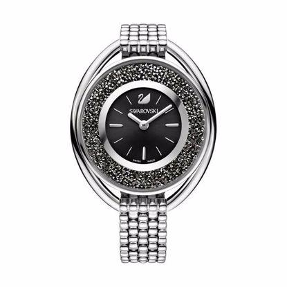 Swarovski klokke Crystalline Oval Black - 5181664