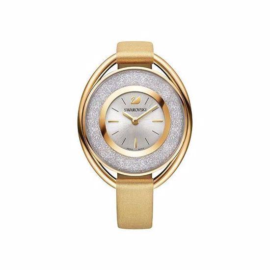 Swarovski klokke Crystalline Oval Gold - 5158972