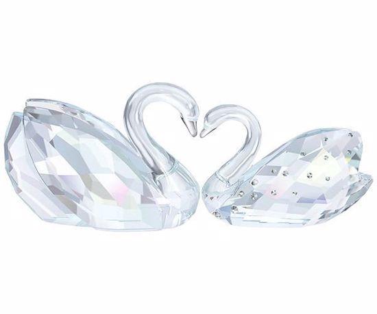 Bilde av Swarovski figur Love Swans - 1143414