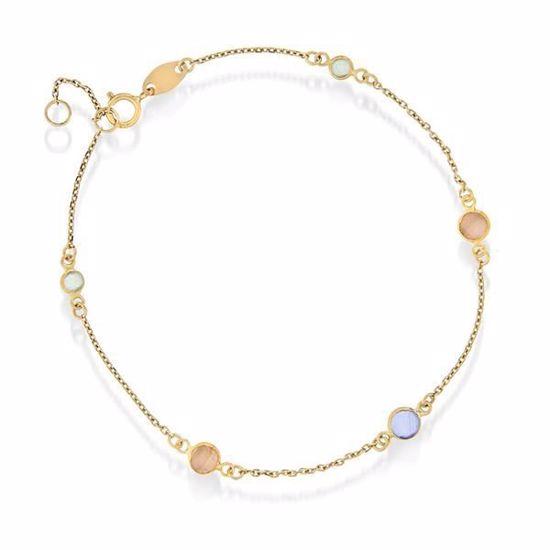 Armbånd i gull med sten - 56464