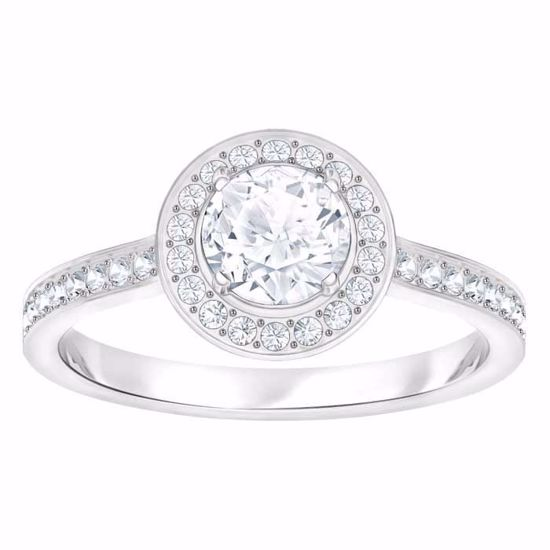 Swarovski ring Attract Light Round - 5409189