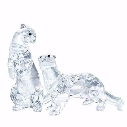 Swarovski figurer. Otters - 5385060