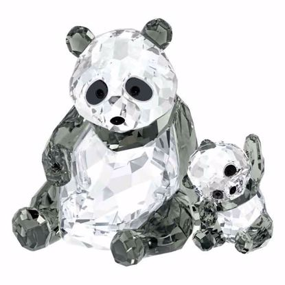 Swarovski figurer. Panda Mother With Baby - 5063690