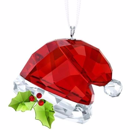 Swarovski figurer. Santa´s Hat Ornament - 5395978