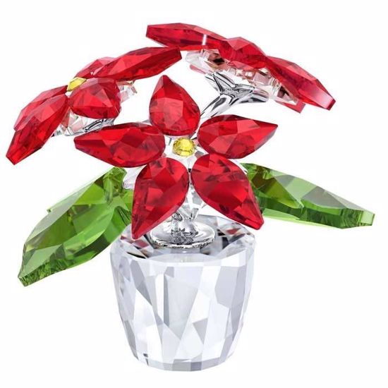 Swarovski figurer. Poinsettia, small - 5291023