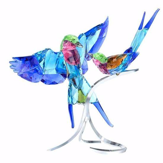 Swarovski figurer. Lilac breasted roller - 5258370