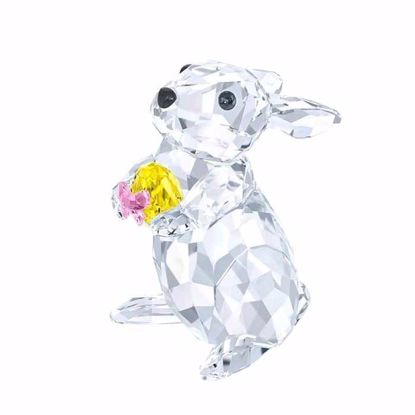 Swarovski figurer. New Rabbit with Yellow Easter Egg -5274174