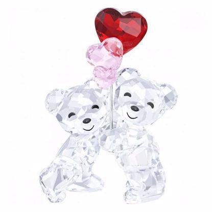 Swarovski figurer. Kris Bear - Heart Balloons - 5185778