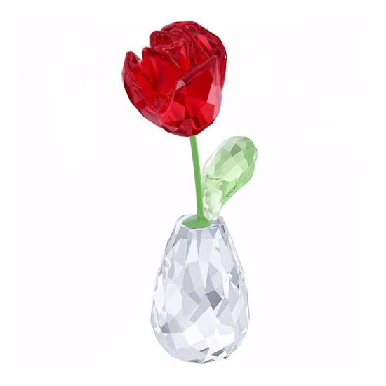 Swarovski figurer. Red Rose - 5254323