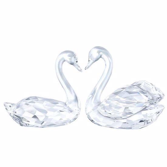 Swarovski figurer. Swan Couple - 5135936