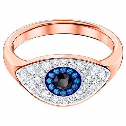 Swarovski ring. Duo Evil Eye - 5441193