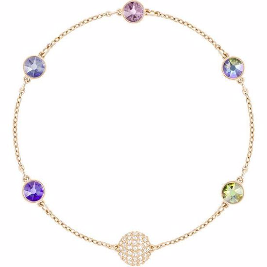 Swarovski Remix Collection Purple armbånd - 5451089