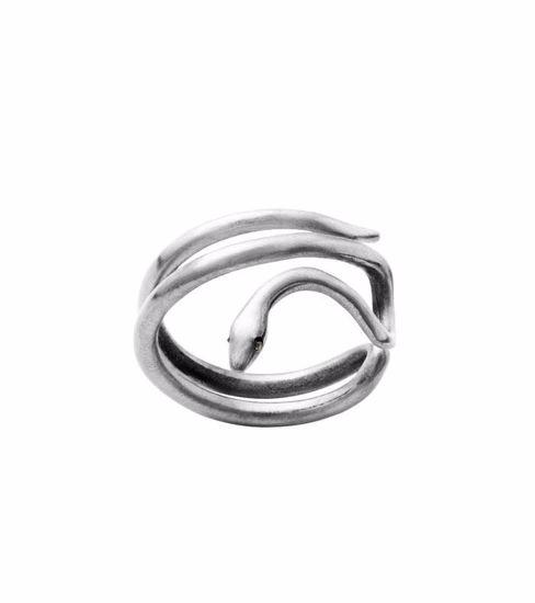EDBLAD ring. Snake Steel - 105899