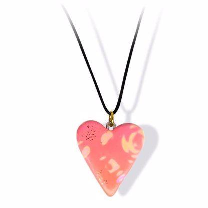 Håndlaget smykke, hjerte -2802038