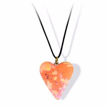 Håndlaget smykke, hjerte -2802048