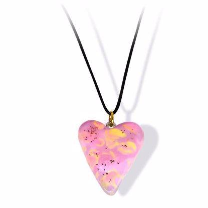 Håndlaget smykke, hjerte -2802050