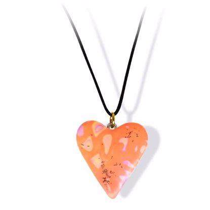 Håndlaget smykke, hjerte -2802051