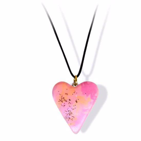 Håndlaget smykke, hjerte -2802055