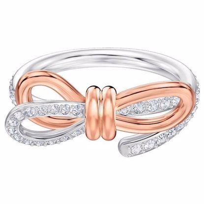 Swarovski ring Lifelong Bow Medium - 5474931