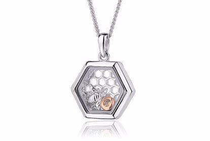 Sølvsmykke Honey Bee Inner Charm®- 3SICLP11